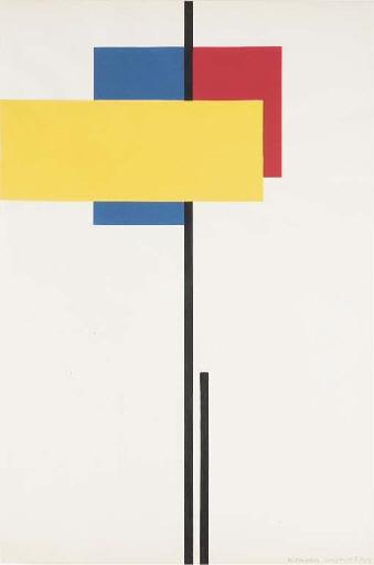 Composition No. 8 - Michel Seuphor