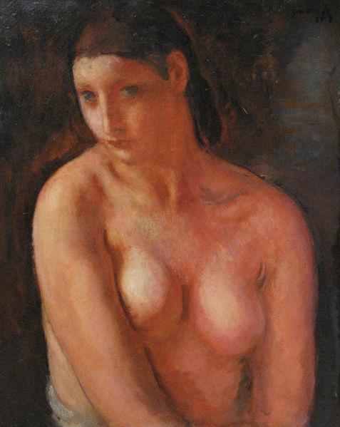Bust de jeune fille, 1925 - Michel Simonidy