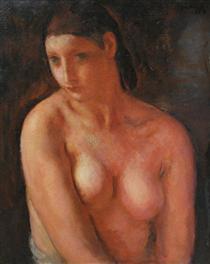 Bust de jeune fille - Michel Simonidy