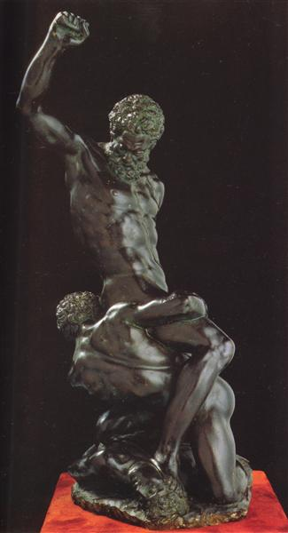 Samson and Two Philistines, c.1540 - Michelangelo