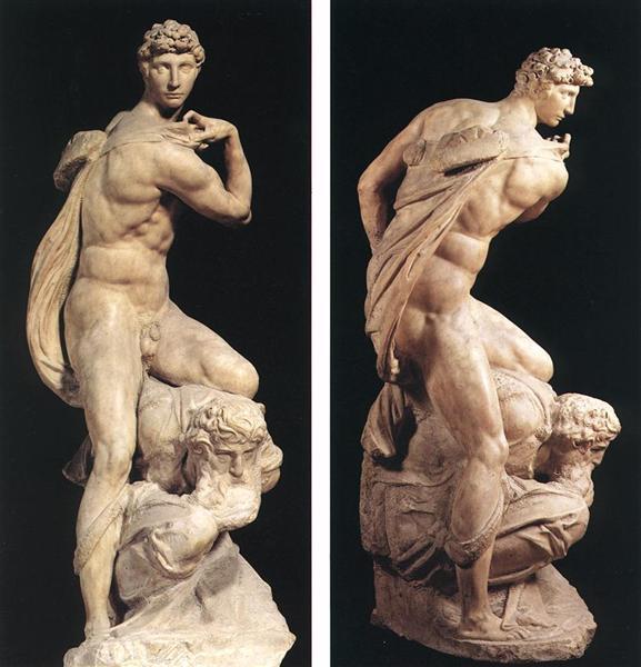 The Genius of Victory, 1532 - 1534 - Michelangelo