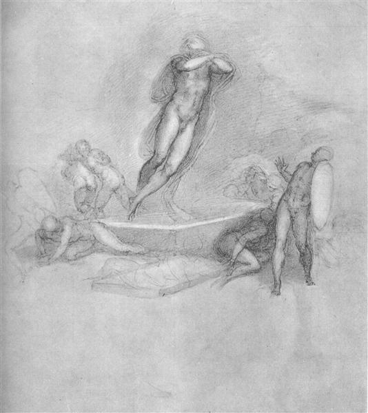 The Resurrection of Christ, c.1533 - Michelangelo