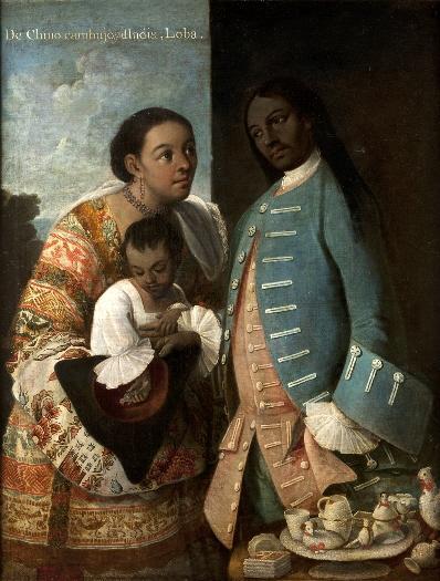 De chino cambujo e india, loba, 1763 - Miguel Cabrera