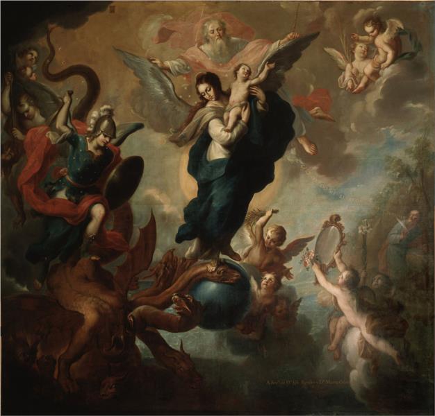 The Virgin of the Apocalypse, 1760 - Miguel Cabrera