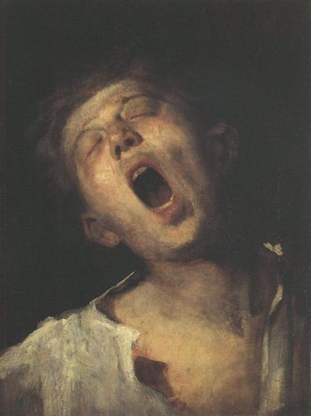Yawning Apprentice, 1869 - Mihaly Munkacsy