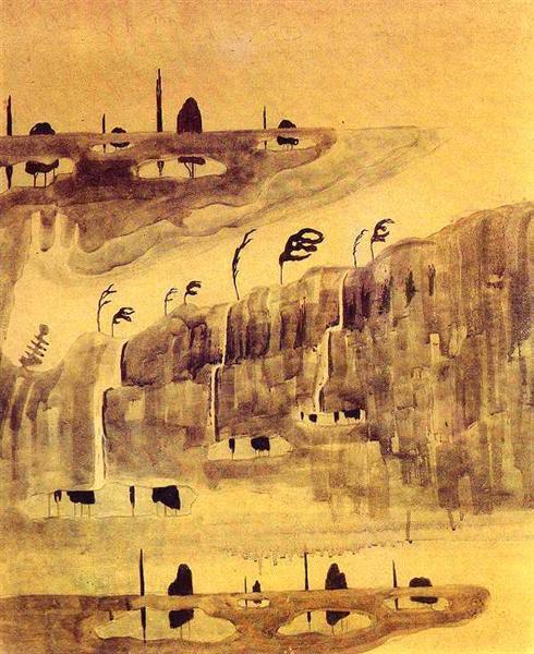 Аллегро (Соната весны), 1907 - Микалоюс Чюрлёнис