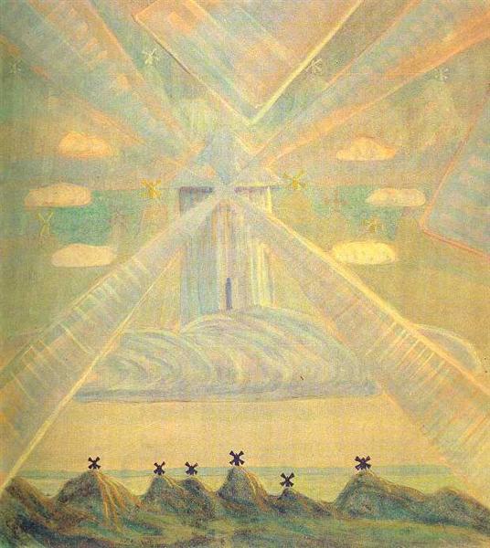 Andante (Sonata of the Spring), 1907 - Mikalojus Konstantinas Ciurlionis