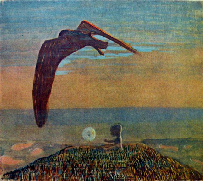 Fairy Tale II, 1909 - Mikalojus Konstantinas Ciurlionis