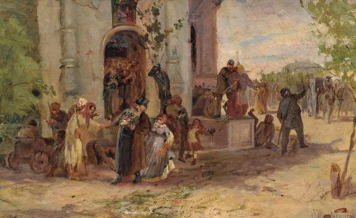 Pentecost, 1881 - Mikhail Nesterov