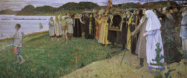 Rus: The Soul of the People, 1916 - Mikhail Nesterov