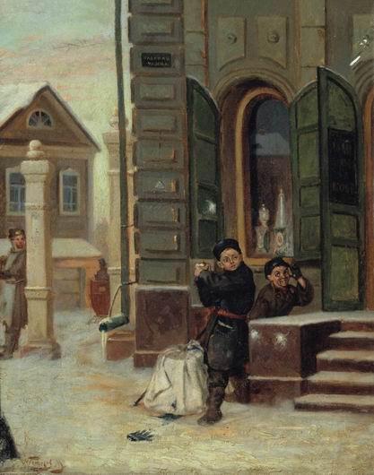 Snowballs, 1879 - Mikhail Nesterov