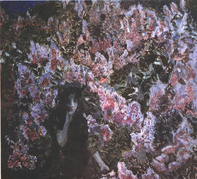 The Lilacs, 1900 - Mikhail Vrubel