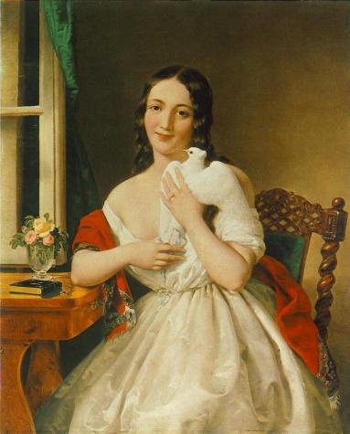Pigeon-post, 1848 - Miklos Barabas