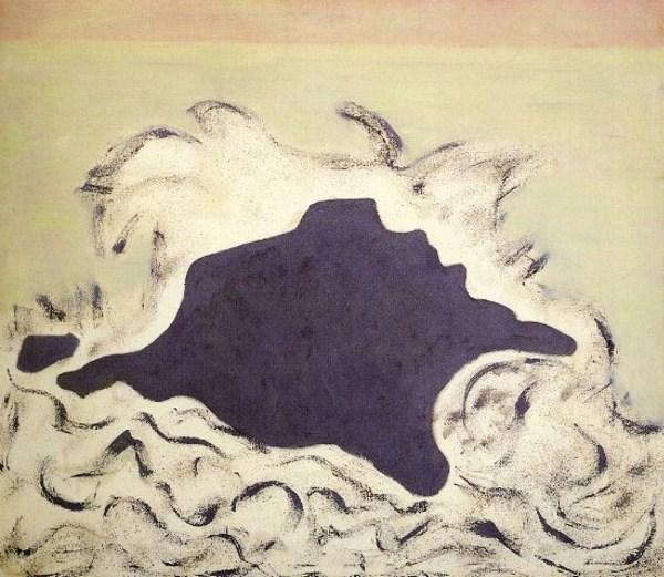 Advancing Sea, 1953 - Milton Avery