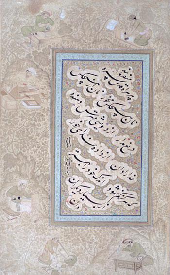 unknown title - Mir Ali Tabrizi