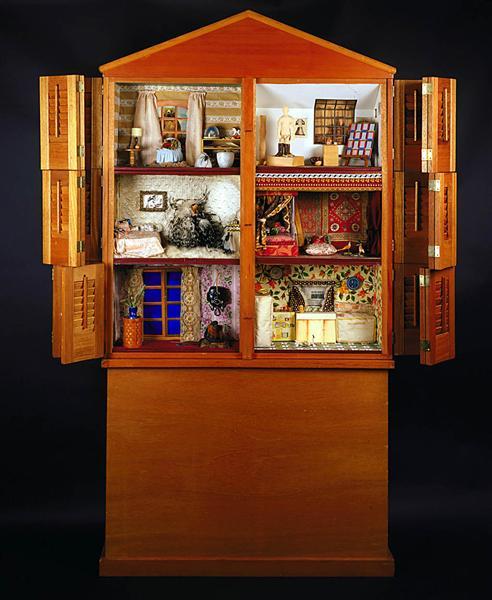 Dollhouse - Miriam Schapiro