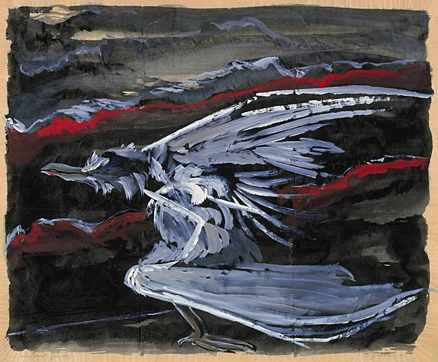Wounded Gull, 1943 - Morris Graves
