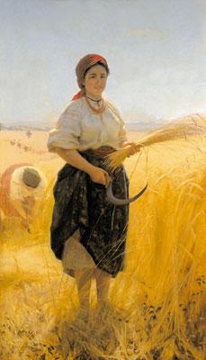 Harvester, 1889 - Mykola Pymonenko