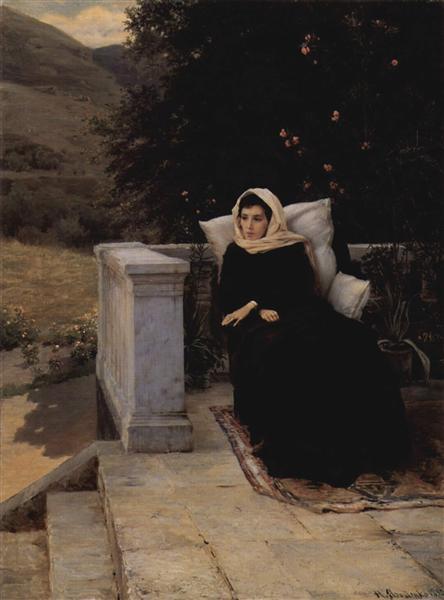 In the warm land, 1890 - Николай  Ярошенко