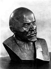 Portrait of V.I.Lenin - Nathan Altman