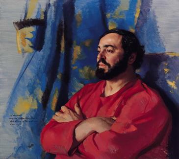 Luciano Pavarotti - Nelson Shanks