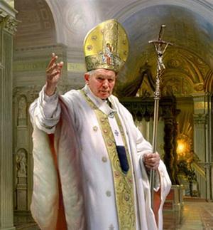 Pope John Paul II - Nelson Shanks