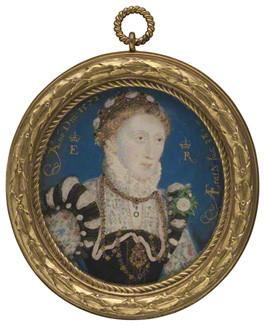 Queen Elizabeth I, 1572 - Nicholas Hilliard