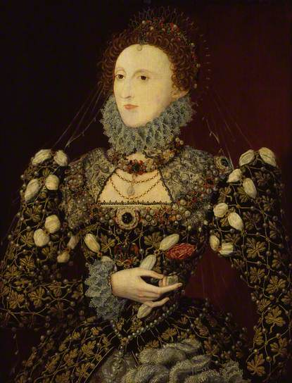 Queen Elizabeth I, 1575 - Nicholas Hilliard