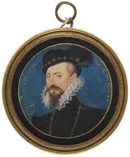 Robert Dudley, 1st Earl of Leicester, 1576 - Nicholas Hilliard