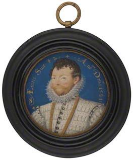 Sir Francis Drake, 1581 - Nicholas Hilliard