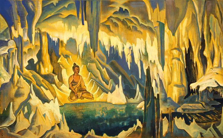 Buddha the Winner, 1925 - Nicholas Roerich
