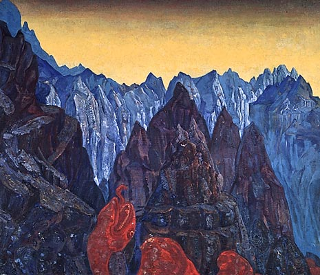 Cry of the serpent, 1914 - Nicholas Roerich