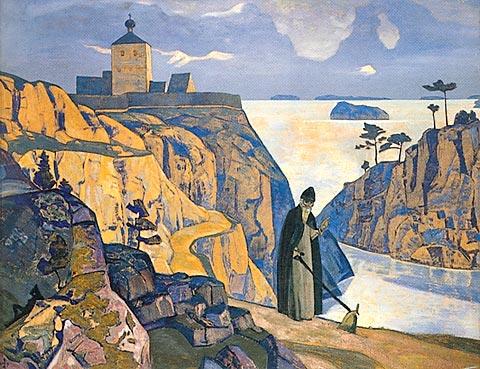 Holy lake, 1917 - Nicholas Roerich