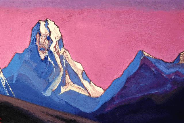 The giant, 1943 - Nicholas Roerich