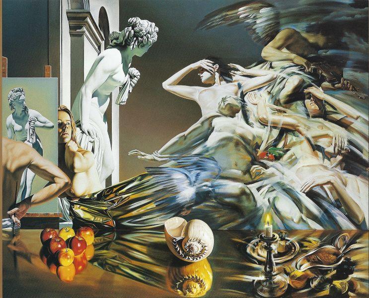 Invasion of Eternity, 2003 - Nicolae Maniu