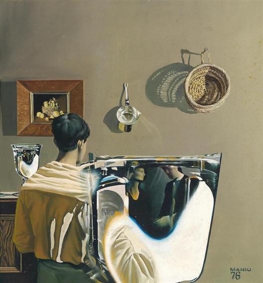 Shadow and Reflection, 1976 - Николаэ Маниу