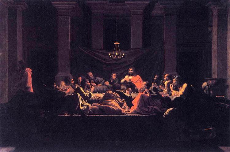 Евхаристия, 1637 - Николя Пуссен