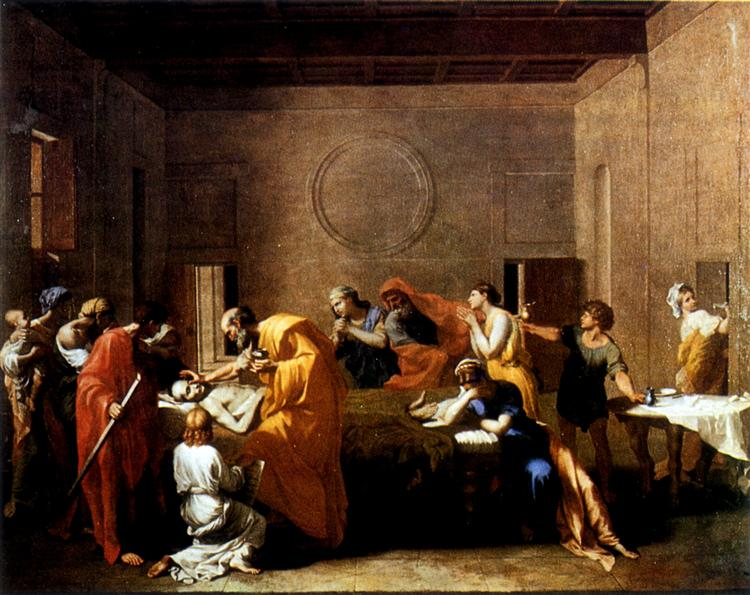 Extreme Unction, c.1638 - 1640 - Nicolas Poussin
