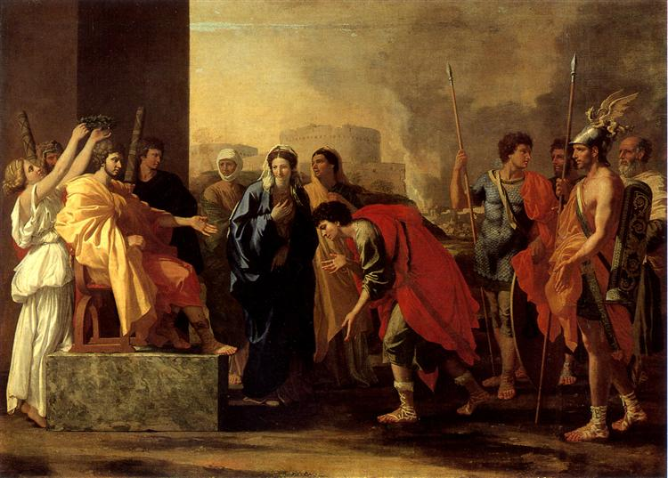The Continence of Scipio, 1640 - Nicolas Poussin