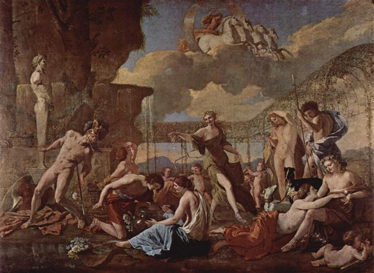 The Realm of Flora, 1630 - 1631 - Nicolas Poussin