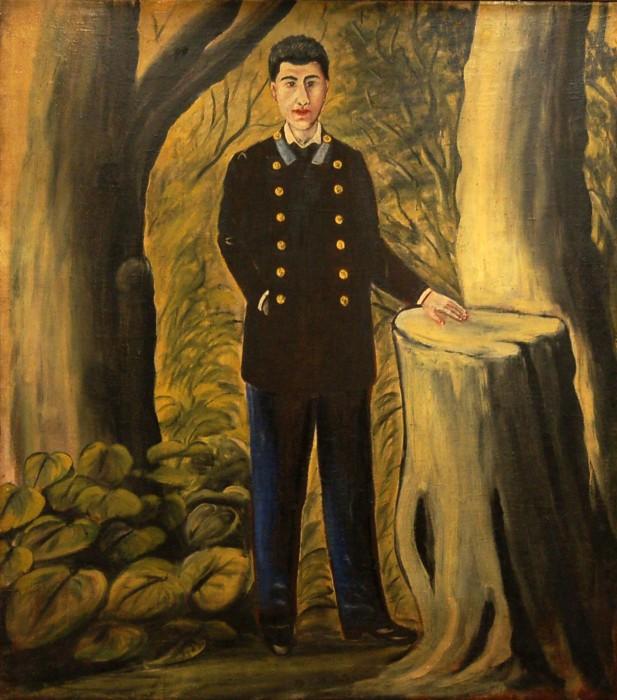 Portrait of Ilya Zdanevich, 1913