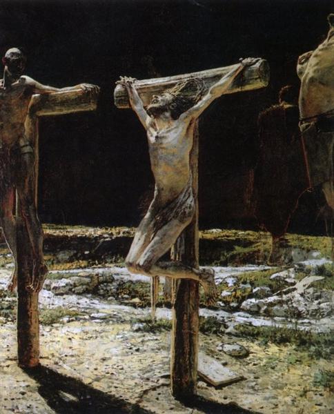 Crucifixion - Ge Nikolai