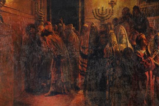The Judgment of the Sanhedrin, 1892 - Nikolai Ge