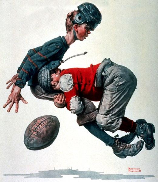 Clown - Norman Rockwell