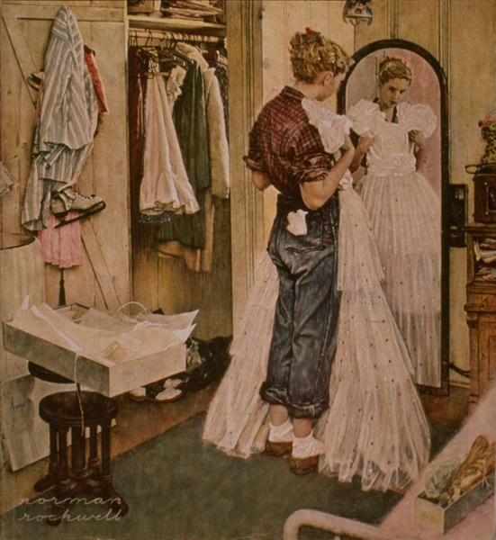 Dress, 1949 - Norman Rockwell