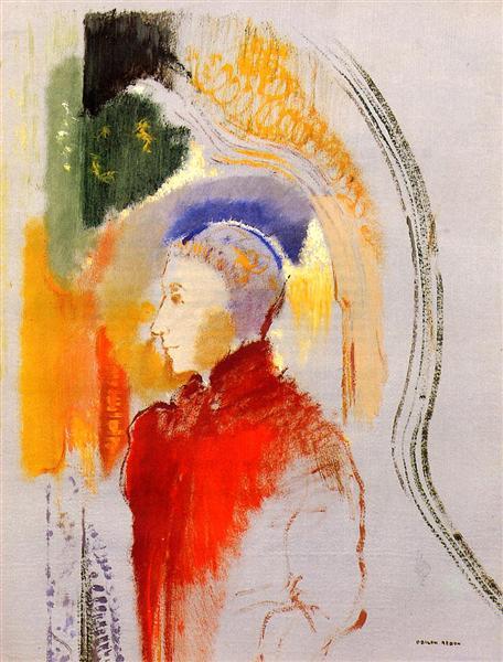 A Figure, c.1905 - Odilon Redon