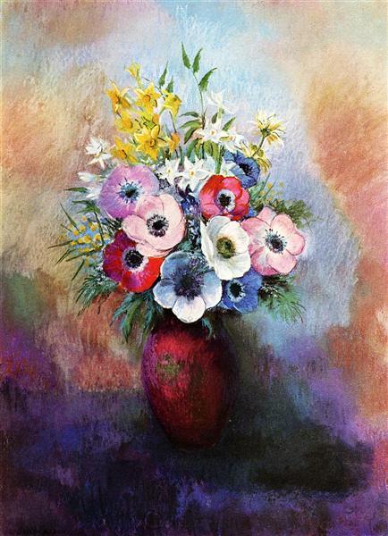 Anemones - Odilon Redon