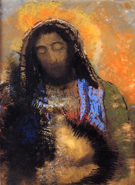 Sacred Heart - Odilon Redon