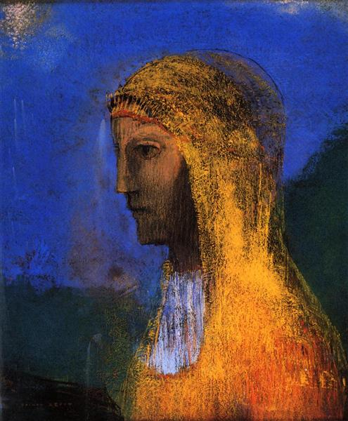 The Druidess - Odilon Redon