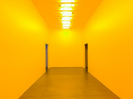 Room For One Colour 1997 Olafur Eliasson Wikiart Org